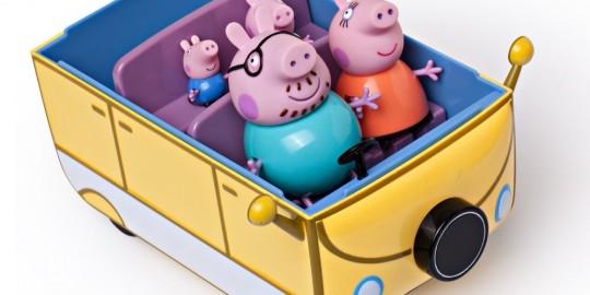 Autocaravana de Peppa Pig