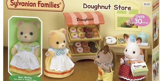 Supermercado y puesto de donuts de Sylvanian Families