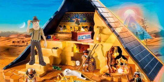 Tadeo Jones en la Pirámide del Faraón de Playmobil