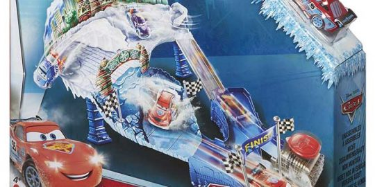 Cars ice racers – Pista de derrapes sobre hielo de Cars