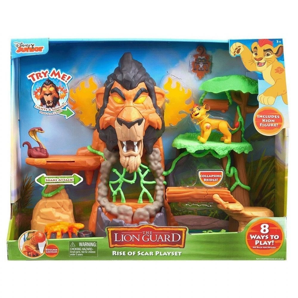 Del León Guarida Go Resurgir On La De Toys The El Scar mwv8ONn0