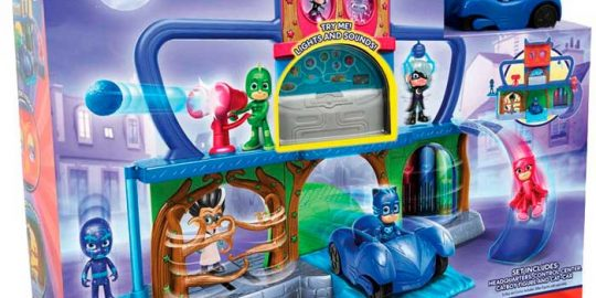 Base secreta de los PJ Masks